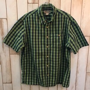 Duluth trading company button down shirt